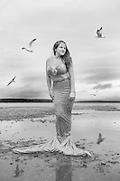 Mermaid shoot with Lucy at Lake Winnipesaukee - personal projects.<br /> ©2016 Karen Bobotas Photographer