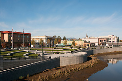California: Napa City, downtown riverfront.  Photo copyright Lee Foster.  Photo # canapa107310