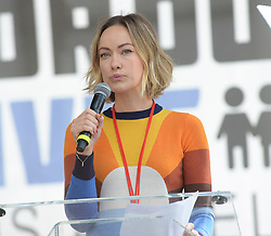 MARCH FOR OUR LIVES, protesting gun violence in schools - Los Angeles. 24 Mar 2018 Pictured: Olivia Wilde. Photo credit: MEGA TheMegaAgency.com +1 888 505 6342