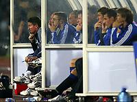 FOTBALL, 11. AUGUST 2004, DONETSK (UKR), <br /> KVALIFISERING CHAMPIONS LEAGUE 2004 - 2005, SHAKTAR DONETSK - CLUB BRUGGE <br />  TROND SOLLIED<br /> PHOTO: NICO VEREECKEN, DIGITALSPORT
