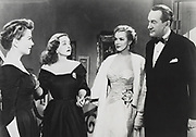 ALL ABOUT EVE, Fox, 1950. Producer: Darryl F. Zanuck. Director: Joseph L. Mankiewicz. Starring Bette Davis