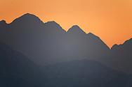 Foothills of the Tian Shan mountains, Xinjiang, China