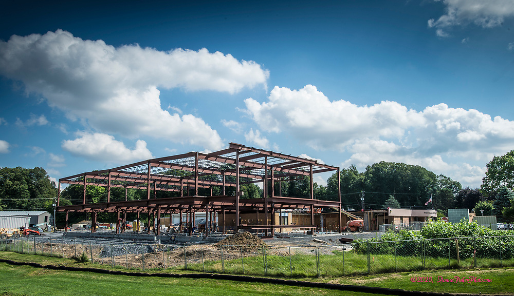 Whitehall Township Municipal Building and surrounding property are undergoing major renovations. Scenes along MacArthur Road in Whitehall Twp., Lehigh County, Pa.. Picture made August 17, 2020.<br />  Donna Fisher Photography, LLC