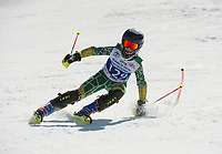 Piche Invitational Paul Ladouceur SL U14 2nd run.    ©2019 Karen Bobotas Photographer