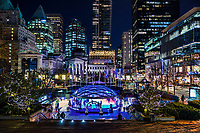 Skating Rink @ Robson Square, Downtown Vancouver