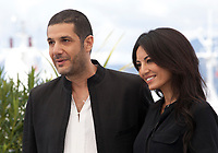 Producer Nabil Ayouch and Director Maryam Touzani at the Adam film photo call at the 72nd Cannes Film Festival, Monday 20th May 2019, Cannes, France. Photo credit: Doreen Kennedy