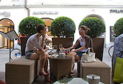 Romeo and Juliette at the Felsenreitschule, Amadeus Weekend. Salzburg. 22 August 2008.  *** Local Caption *** -DO NOT ARCHIVE-© Copyright Photograph by Dafydd Jones. 248 Clapham Rd. London SW9 0PZ. Tel 0207 820 0771. www.dafjones.com.