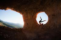JenMarie Warr at Shaman Cave, Sedona - Arizona