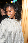 New York, NY-December 20: Social Influencer Ebony Brown attends the Ascension Party-A Holiday Affair curated by D'Prosper and held at the Top of the Standard on December 20, 2017 in New York City.  (Terrence Jennings/terrencejennings.com)