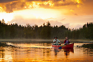 Camping in the wilderness of Dalarna, Halsingland and Gavleborg in the heart of Sweden