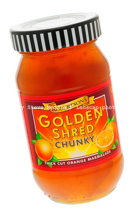 Jar of Robertsons Golden Shred Chunky Marmalade