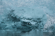 Iceberg detail, Jökulsárlón, Iceland