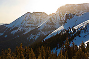 Whitehouse Mountain at sunrise, San Juan Mountains, Colorado.