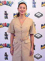 """Betty Bachz  at the """"Moley"""" premiere, Leicester Square, London, Location, London, UK - 25 Sep 2021 photo by Roger Alacron"""