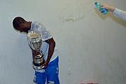 DESCRIZIONE : Final Eight Coppa Italia 2015 Finale Olimpia EA7 Emporio Armani Milano - Dinamo Banco di Sardegna Sassari<br /> GIOCATORE : Jerome Dyson<br /> CATEGORIA : esultanza post game post game<br /> SQUADRA : Banco di Sardegna Sassari<br /> EVENTO : Final Eight Coppa Italia 2015<br /> GARA : Olimpia EA7 Emporio Armani Milano - Dinamo Banco di Sardegna Sassari<br /> DATA : 22/02/2015<br /> SPORT : Pallacanestro <br /> AUTORE : Agenzia Ciamillo-Castoria/Max.Ceretti