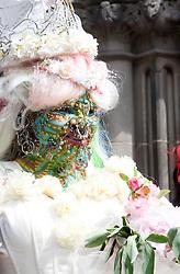 Elaine Davidson, the world's most pierced woman, got married in Edinbugh to Douglas Watson..