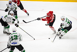 SODJA Jaka during summer Hockey League match between HK SZ Olimpija and HDD SIJ Jesenice, on September 12, 2020 in Ice Arena Bled, Bled, Slovenia. Photo by Peter Podobnik / Sportida