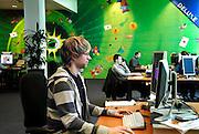 Nederland, Eindhoven, 23-3-2007..Productieruimte van spelletjesproducent Zylom. Man werkt aan een spelletje...Foto: Flip Franssen/Hollandse Hoogte