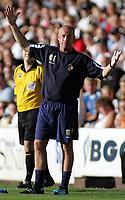 Photo: Paul Thomas.<br /> Port Vale v Bristol City. Coca Cola League 1. 23/09/2006.<br /> <br /> Martin Foyle, Port Vale manager.