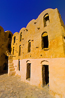 Ghorfas in Ksar Ouled Soltane, Tunisia