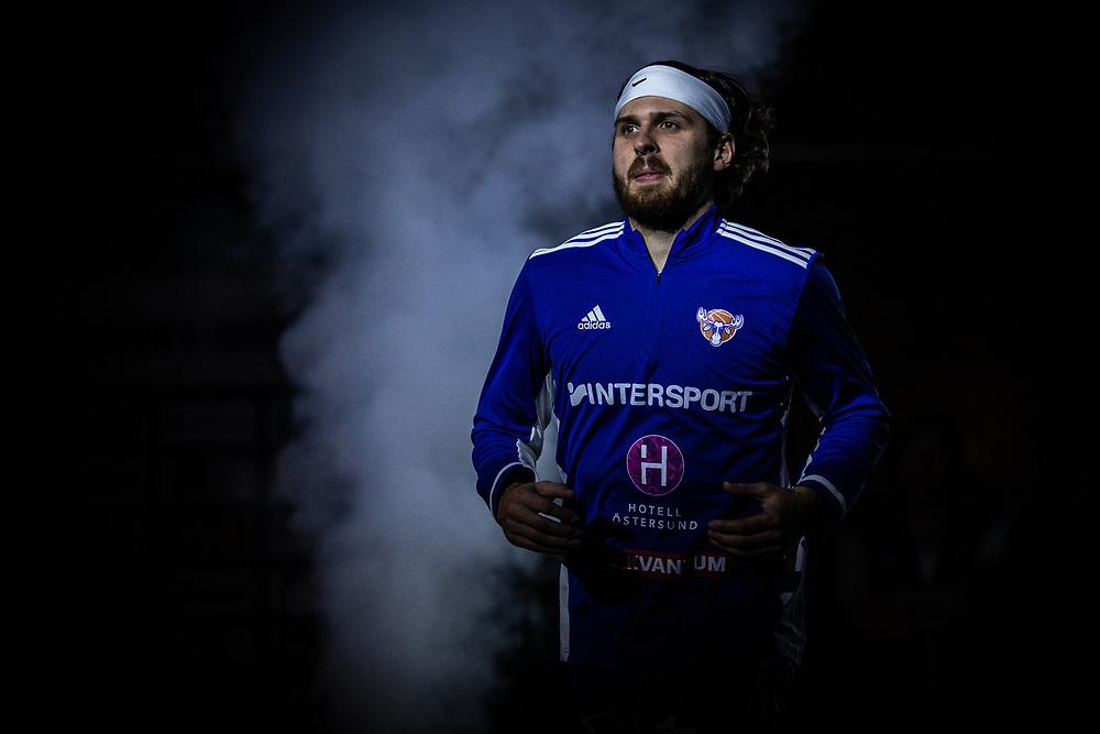 ÖSTERSUND 20210924<br /> Jämtlands Chase Harler under fredagens match i Basketligan mellan Jämtland Basket och Nässjö Basket i Östersunds Sporthall<br /> <br /> Foto: Per Danielsson/Projekt.P