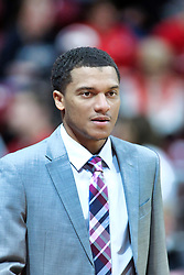 NORMAL, IL - January 05: TERRENCE COMMODORE during a college basketball game between the ISU Redbirds and the University of Evansville Purple Aces on January 05 2019 at Redbird Arena in Normal, IL. (Photo by Alan Look)