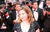 Emmanuelle Devos arriving at the Vous N'Avez Encore Rien Vu gala screening at the 65th Cannes Film Festival France. Monday 21st May 2012 in Cannes Film Festival, France.