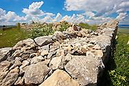 Photo of  the  Palace Walls to the Hittite capital Hattusa 4