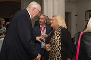 HENRY KESWICK; CHRIS ORR; DAME VIVIEN DUFFIELD, Dinner and a performance and film screening from Carnet de and Mike Figgis (who has created a film especially for the event)  to celebrate David Tang and to mark the start of construction of the RA's £50 million redevelopment project.  Royal Academy. Piccadilly. London. 26 October 2015.
