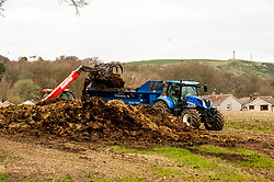 Life on the farm has to carry on regardless with muck spreading on today's to do list.<br /> <br /> People are finding ways to cope with the lockdown in Midlothian.