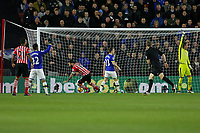 Football - 2016 / 2017 Premier League - Southampton vs. Everton<br /> <br /> Southampton's Charlie Austin taps in from close range to score the opening goal at St Mary's Stadium Southampton England<br /> <br /> COLORSPORT/SHAUN BOGGUST