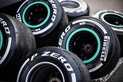 February 26, 2019 - Barcelona, Catalonia, Spain - Pirelli tyres during the Formula 1 2019 Pre-Season Tests at Circuit de Barcelona - Catalunya in Montmelo, Spain on February 26. (Credit Image: © Xavier Bonilla/NurPhoto via ZUMA Press)