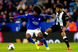 Hamza Choudhury of Leicester City takes on DeAndre Yedlin of Newcastle United - Mandatory by-line: Robbie Stephenson/JMP - 29/09/2019 - FOOTBALL - King Power Stadium - Leicester, England - Leicester City v Newcastle United - Premier League