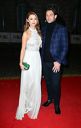 Una Healey and Ben Foden attends the Mum's List premiere at the Curzon Mayfair, London.