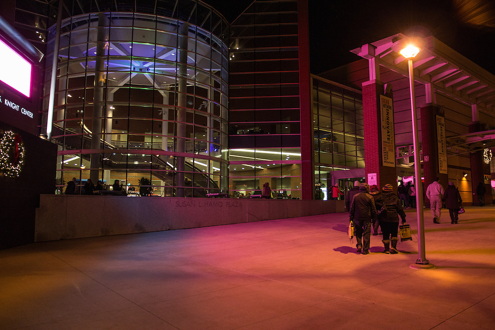 The John S. Knight Center at First Night Akron 2015