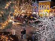 Leavenworth Bavarian Ice Fest is held in January in Leavenworth, Washington,USA. The yearly event includes a human tug-of-war, and also the Northwest Dog Sled Pulling Competition, a sanctioned event of the International Weight Pull Association. The town brightens all winter with colorful electric lights.