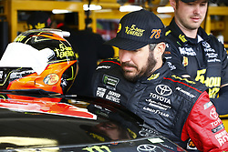 March 10, 2018 - Avondale, Arizona, United States of America - March 10, 2018 - Avondale, Arizona, USA: Martin Truex, Jr (78) hangs out in the garage during practice for the Ticket Guardian 500(k) at ISM Raceway in Avondale, Arizona. (Credit Image: © Chris Owens Asp Inc/ASP via ZUMA Wire)