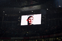 Football - 2018 / 2019 Premier League - Arsenal vs. Cardiff City<br /> <br /> A picture of Emiliano Sala - the missing player on display, at The Emirates.<br /> <br /> COLORSPORT/ASHLEY WESTERN