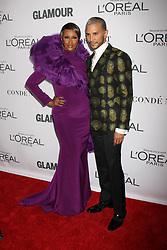 November 13, 2017 - New York City, New York, USA - 11/13/17.Iman and Jay Manuel at The 2017 Glamour Women of the Year Awards in Brooklyn, New York. (Credit Image: © Starmax/Newscom via ZUMA Press)