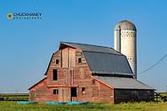 Rustic barn near Tripp, South Dakota, USA