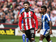Kieron Freeman of Sheffield United during the English League One match at Bramall Lane Stadium, Sheffield. Picture date: April 30th, 2017. Pic credit should read: Jamie Tyerman/Sportimage