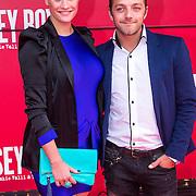NLD/Utrecht/20130922 - Premiere Jersey Boys, Tommy Christiaan en partner Michelle Splietelhof