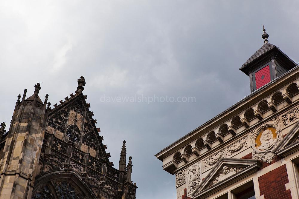 Dom Kerk and Utrecht University buildings on the skyline, Utrecht