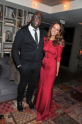 LAVINIA BRENNAN and ERROL DOUGLAS at the Beulah AW13 Showcase, Bungalow 8 LFW Pop-Up at Belgraves - A Thompson Hotel, 20 Chesham Place, London SW1 on 13th February 2013.