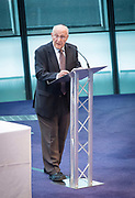Holocaust Memorial Day <br /> A ceremony to commemorate Holocaust Memorial Day in a ceremony in the Chamber at City Hall, London, Great Britain<br /> 22nd January 2018 <br /> <br />  <br /> Mayor and Assembly join Londoners for Holocaust Memorial Day ceremony<br />  <br /> <br /> Manfred Goldberg<br /> Holocaust Survivor