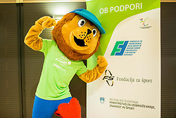 Official Mascot during Award ceremony at Day 4 of 15th Slovenia Open - Thermana Lasko 2018 Table Tennis for the Disabled, on May 12, 2018, in Dvorana Tri Lilije, Lasko, Slovenia. Photo by Vid Ponikvar / Sportida