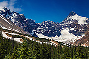Canadian Rockies Mountains, Montagnes rocheuses Alberta, Canada.