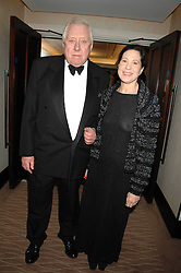LORD HATTERSLEY and MAGGIE PEARLSTINE at the 2007 Costa Book Awards held at The Intercontinental Hotel, One Hamilton Place, London W1 on 22nd January 2008.<br /> <br /> NON EXCLUSIVE - WORLD RIGHTS (EMBARGOED FOR PUBLICATION IN UK MAGAZINES UNTIL 1 MONTH AFTER CREATE DATE AND TIME) www.donfeatures.com  +44 (0) 7092 235465