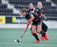 AMSTELVEEN -   Charlotte Adegeest (Adam)     tijdens de hoofdklasse hockeywedstrijd dames, zonder publiek vanwege COVID-19, AMSTERDAM-SCHC (2-2). COPYRIGHT KOEN SUYK