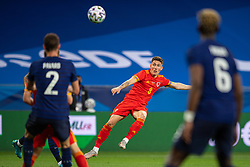 NICE, FRANCE - Wednesday, June 2, 2021: Wales' Harry Wilson shoots during an international friendly match between France and Wales at the Stade Allianz Riviera ahead of the UEFA Euro 2020 tournament. (Pic by Simone Arveda/Propaganda)